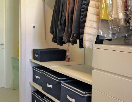 cabina armadio dettaglio